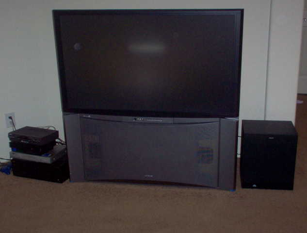 51 Inch Hitachi Rear Projection Hdtv