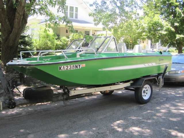 Boat W / Trailer For Sale