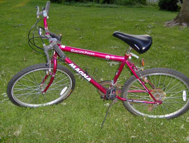 24 Inch Boys Red Magna Glacier Pt Bike