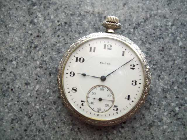 1925 Elgin Pocket Watch 17 Jewels