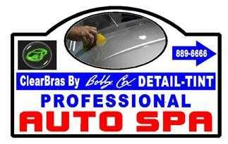 Professional Auto Spa & Bobby's Clear Bra Installation
