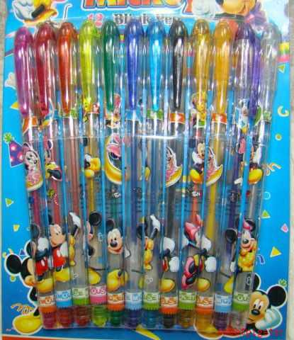 Disney Glitter Pens - Lots Of Designs