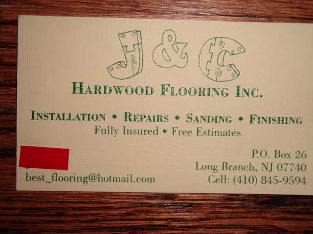 Labor To Hardwood Floors