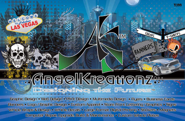 Graphic Design / Wraps / Banners / Flyers / Business Cards / T - Shirts