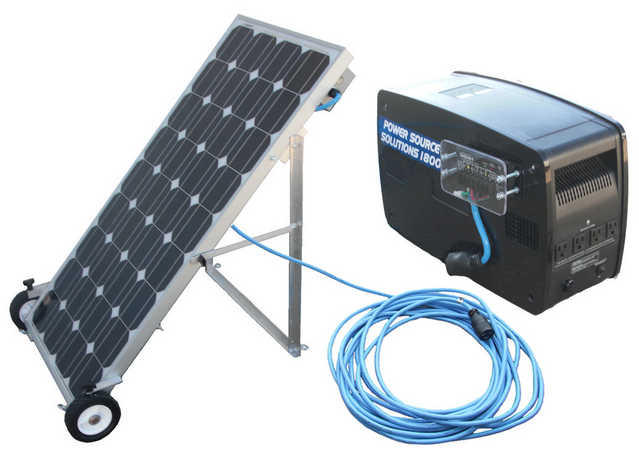 Portable Solar Electric Generator