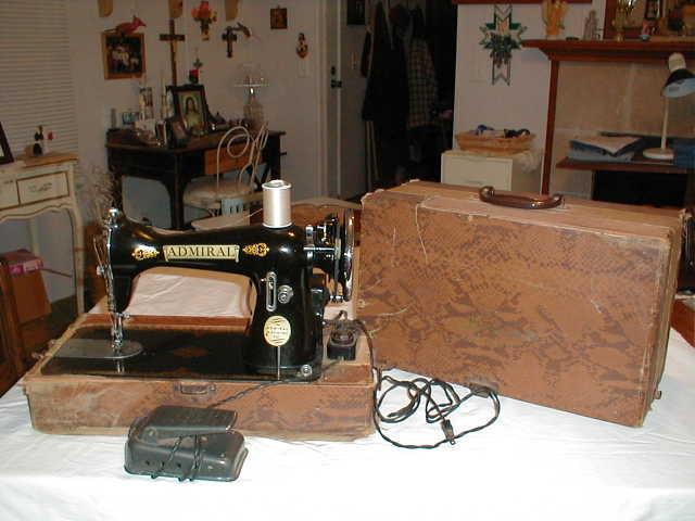 Admiral Delux Antique Sewing Machine