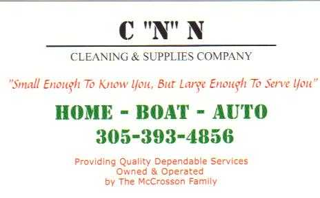 Cnn Cleaning Supplies Company - Fl Keys 305 - 393 - 4856