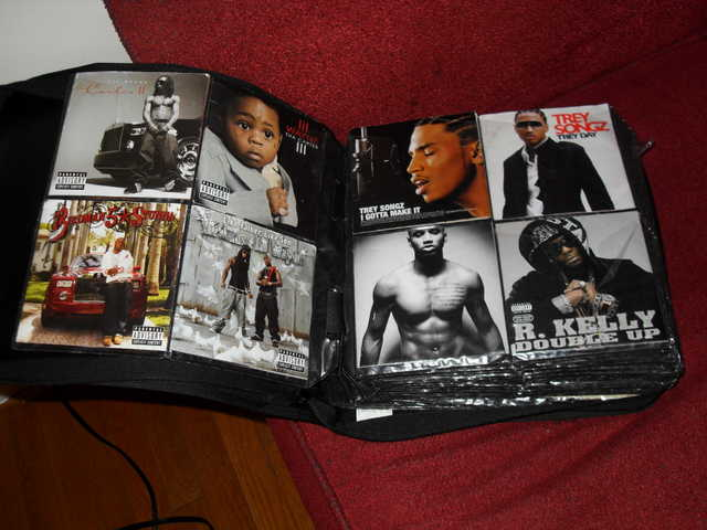 Cd Book Collection Of Pop, Hip Hop, Reggae And R&b Music!