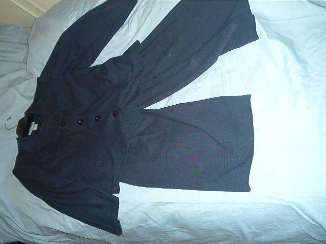 Ladies Black Pant Suit