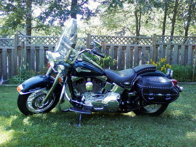 2002 Harley Davidson Heritage Softail Classic