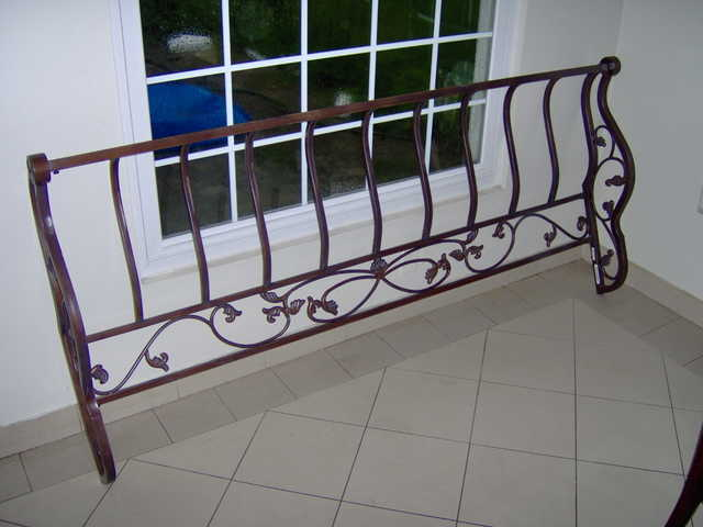 King Sized Steel Bed Frame