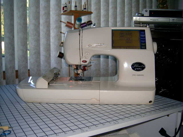 Brother Pc8500 Sewing / Embroidery Machine