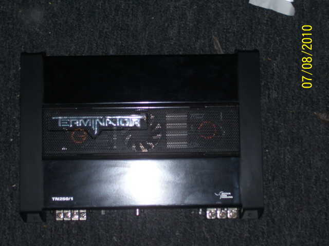 Mtx Terminator 400 Watt Amplifier