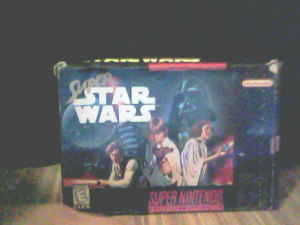 Super Star Wars In Box Game Plays Great!