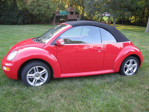 2004 Volkswagen Beetle Convertible With Currently 5