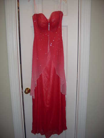 Hot Pink Prom / Pageant Dress