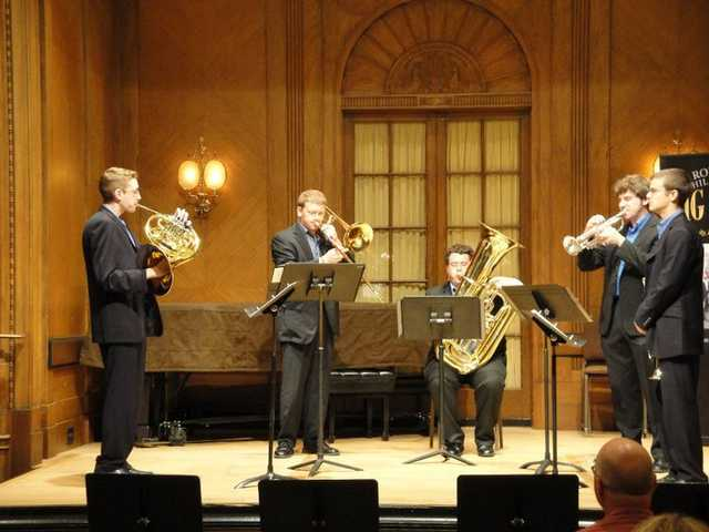 Brass Quintet For Hire
