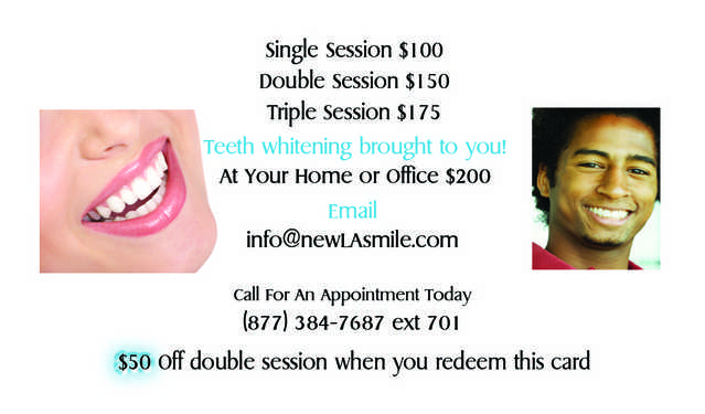 2 For 1 Teeth Whitening