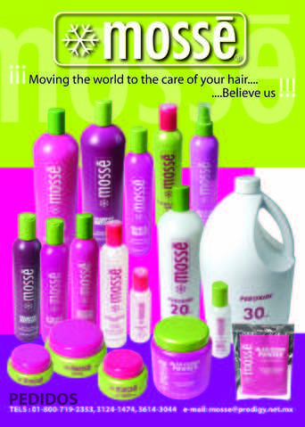 Mosse - Salon Products