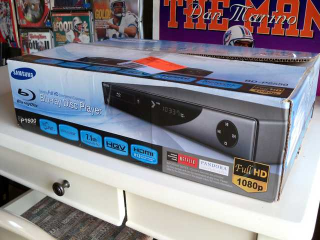 Blu Ray Dvd Player (Like New) $70