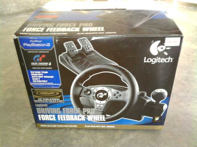 Logitech Wheel Driving