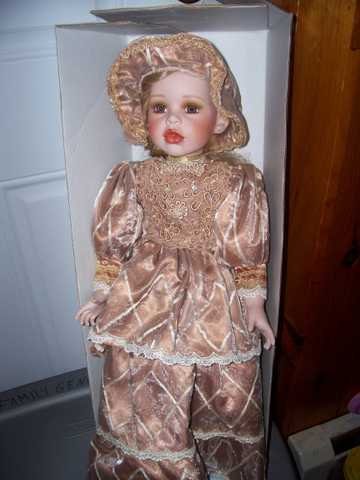 Porcelain Dolls, Althea And Baby Sugar Plum