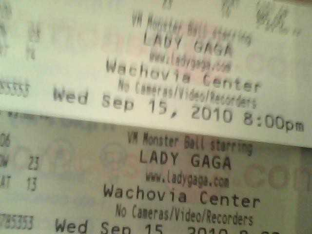 Lady Gaga Tickets Sold Out Concert 9 / 15