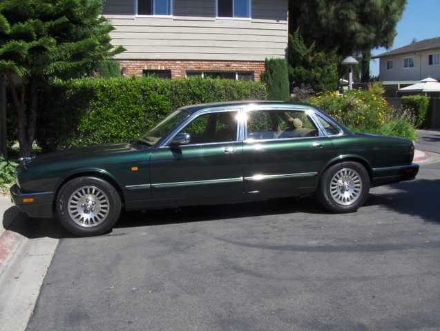 Jaguar 1997 Xj6 Vanden Plas 78k Green Color - Excelent Conditions