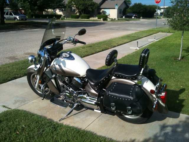 Loaded 2003 Yamaha V - Star 1100 Classic