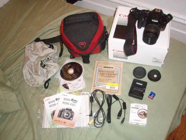 Canon Eos Rebel Xsi Ef - S 18 - 55 Is Kit (Black)