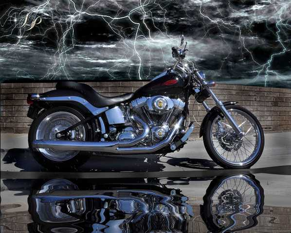 Harley Softail 06 - Lqqk At This Beauty