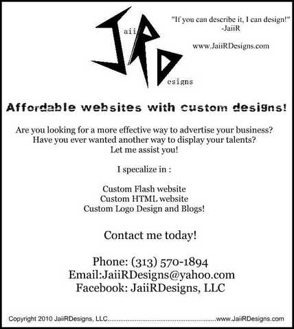 Affordable Websites With Custom Designs!