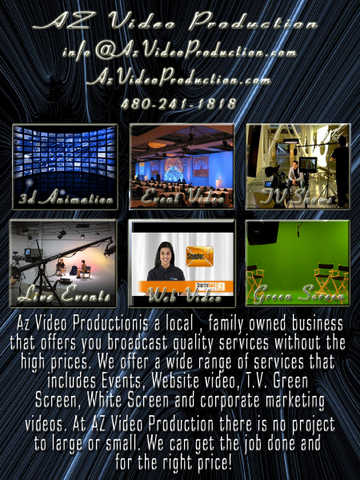 * Video Production * Web / Events / Tv / Corporate