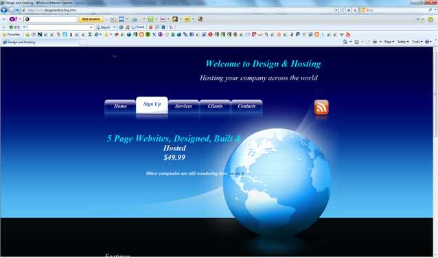 Design And Hosting