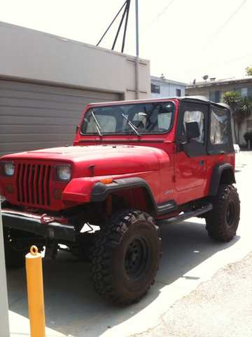 Jeep Wrangler 95 Yj Lifted 4250 Or Obo Lift Kit 139