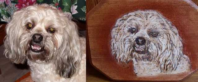 Pet Woodburning Art