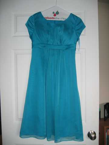 Formal Dress (Turquoise)