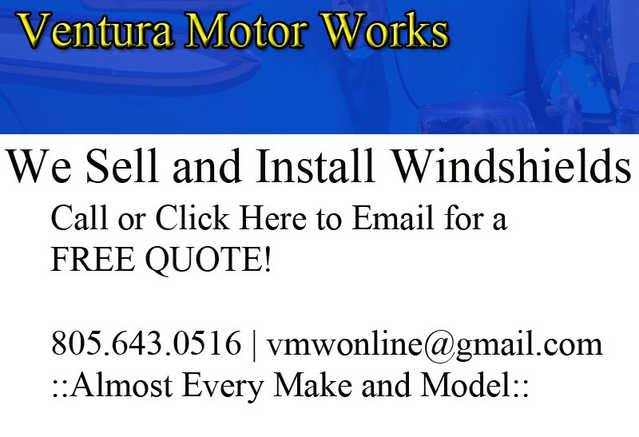 Windshield Sales And Installtion - Same Day Service