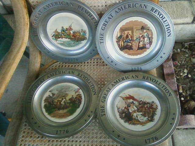 The Great American Revolution 1776 Plates