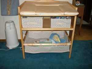 German Made Changing Table