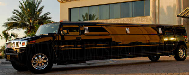 20 Passenger H2 Hummer Limo Service - 2 Hrs Free!