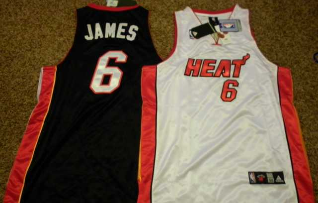 Lebron James Miami Heat Jerseys Home And Away Nwt
