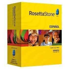 Brand New Rosetta Stone Spanish Version Latin America Ver 3