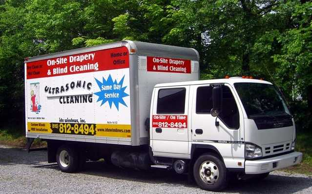 Mobile Drape & Shade Cleaning! Ultrasonic Blind Cleaning