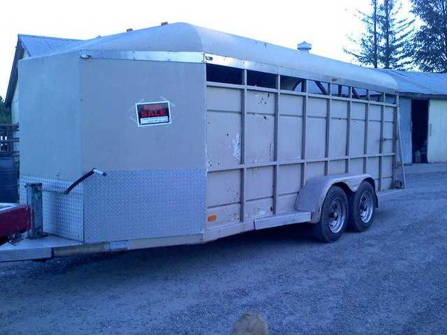 Stock Trailer For Sale!