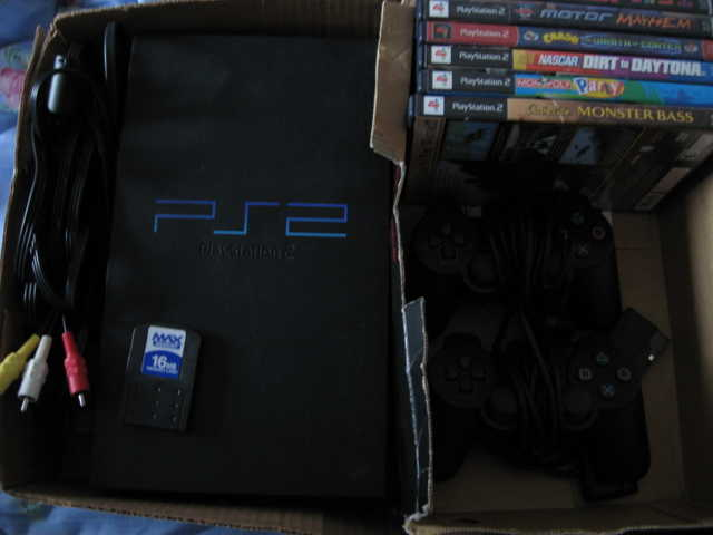 Playstation 2 W / Games