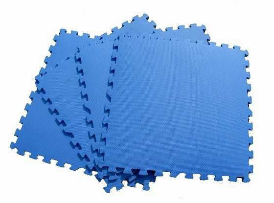 80 Sf 1 Thick Eva Foam Puzzle Interlock Floor Mat