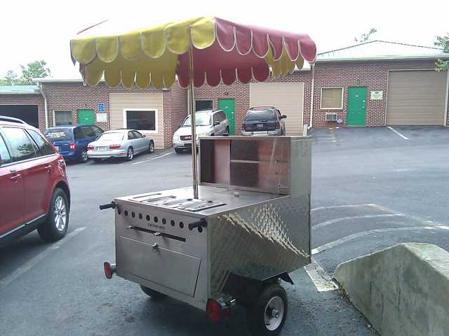Real Ny Hot Dog Cart. Party, Event Rental