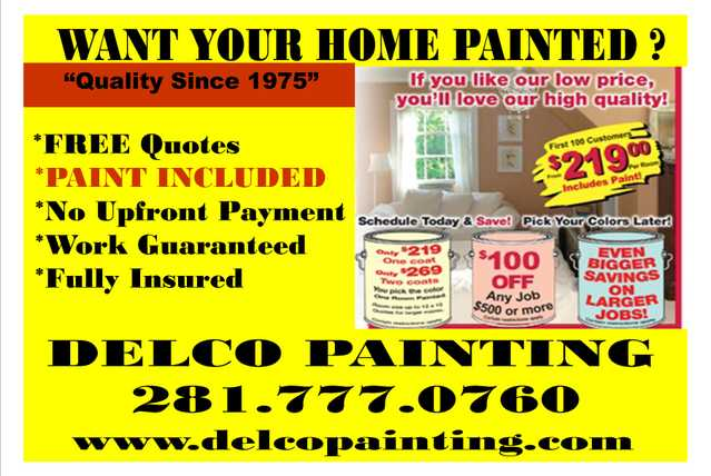 Delco Painting & Drywall
