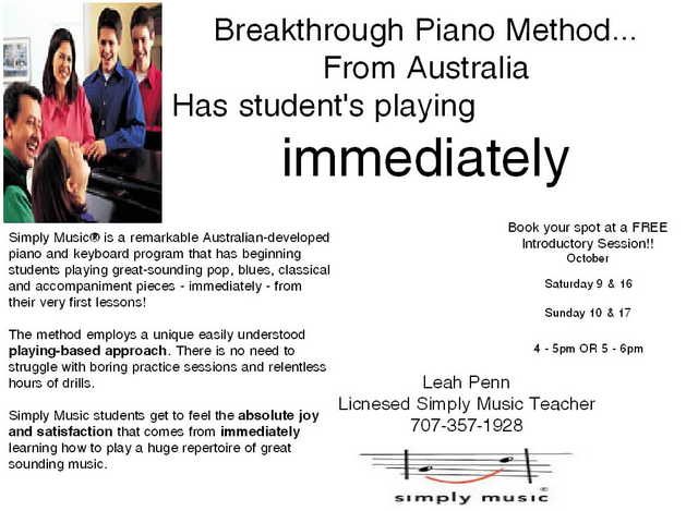 Piano Lessons !